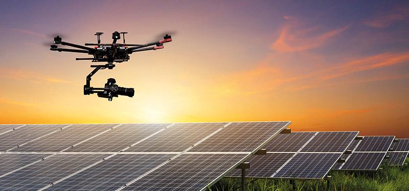 Drones en el sector energético