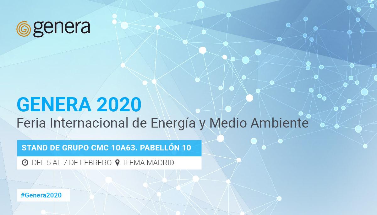 Grupo CMC participa en GENERA 2020