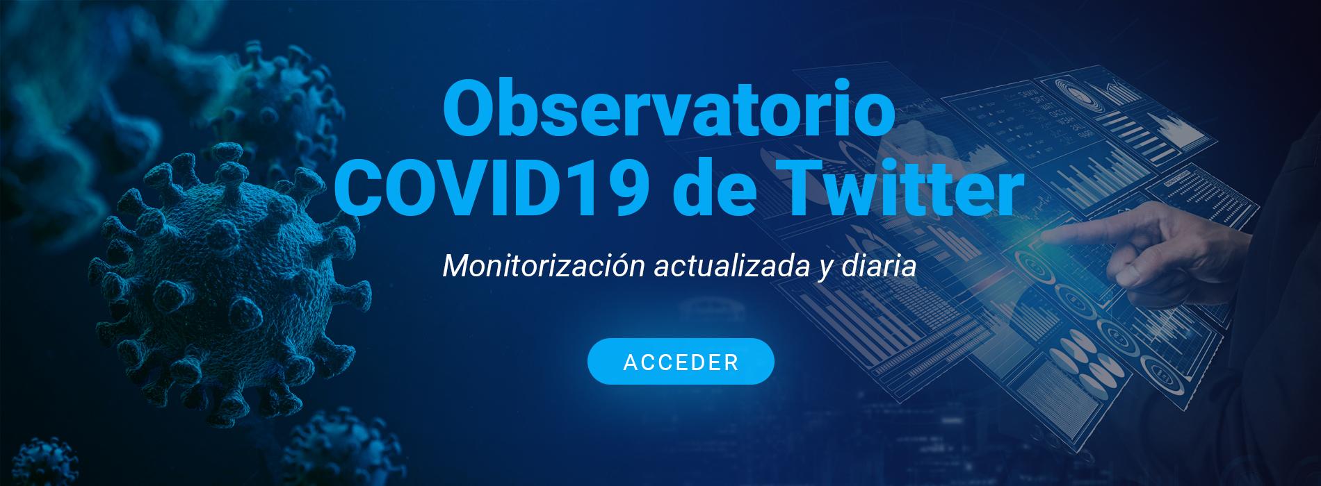 Observatorio COVID-19 de Twitter